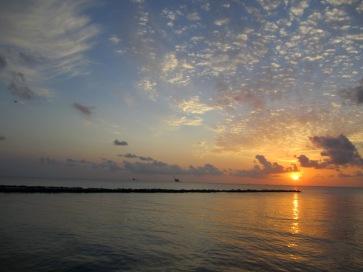 Sunrise near Dauphin Island