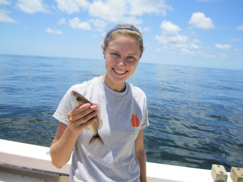 Hook and line fishing success!