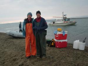 Me and Tara, pre fieldwork.