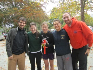 2012 Cape Cod Marathon Relay Team: Will, Fiona, Carrie, Stephanie, Will