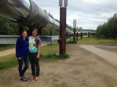 Obligatory pipeline photo in Fairbanks