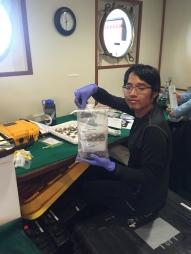 Thomas sorting clams