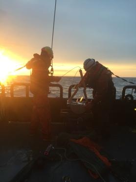 Midnight trawl session