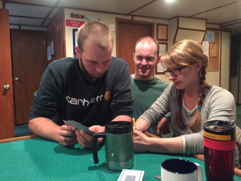How many people does it take to learn euchre? (Tommy, Austin, Lorena)