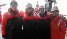 The Benthic Team! Janelle, Vanessa, me, Thomas
