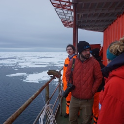 FIrst day in the sea ice! (Photo by Anika Happe)