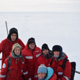 Ice core team ready for day 1 in the field!