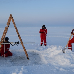 Calibrating the GEM -- an instrument used to measure ice thickness